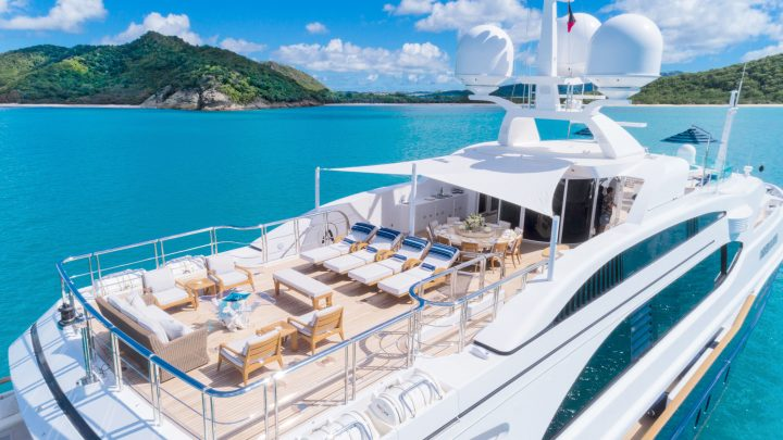 The Best Luxury Yachts of Antigua Charter Yacht Show luxury yachts The Best Luxury Yachts of Antigua Charter Yacht Show Benetti Andiamo1 1