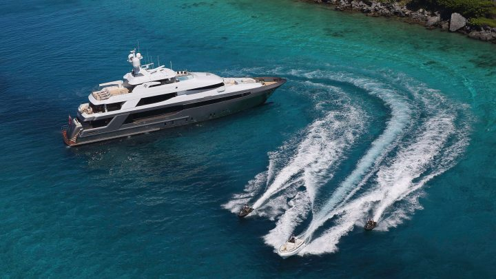 luxury yachts The Best Luxury Yachts of Antigua Charter Yacht Show Crescent Custom Yachts Muchos Mas1