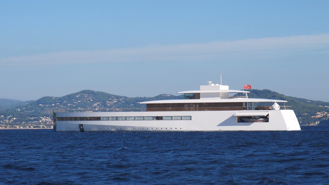 steve jobs Inside Steve Jobs' Luxury Yacht s9TjMdvSGqzcVMtBpR5g venus yacht refit profile