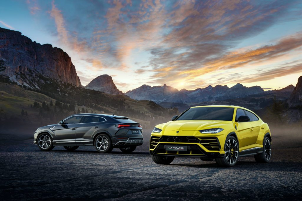 lamborghini Sneak Peek: The New Lamborghini Urus 493259