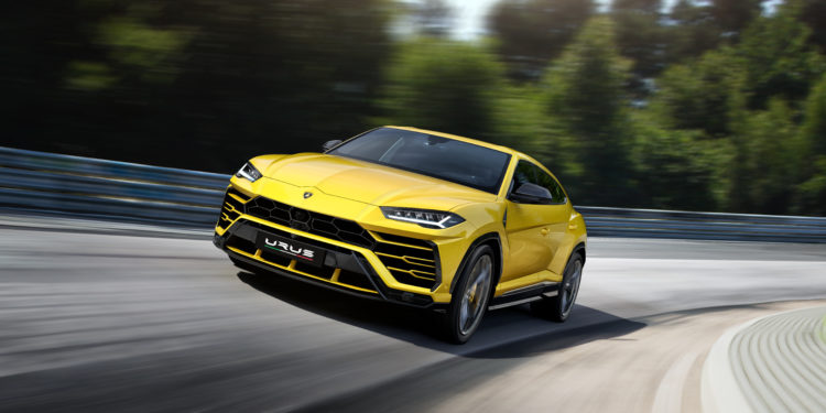 lamborghini Sneak Peek: The New Lamborghini Urus 493264