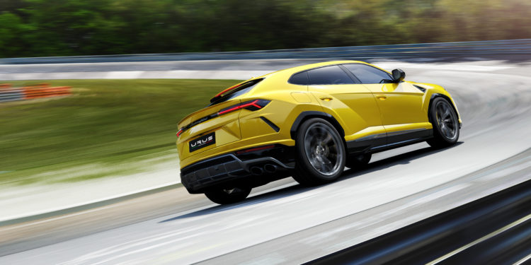 lamborghini Sneak Peek: The New Lamborghini Urus 493265