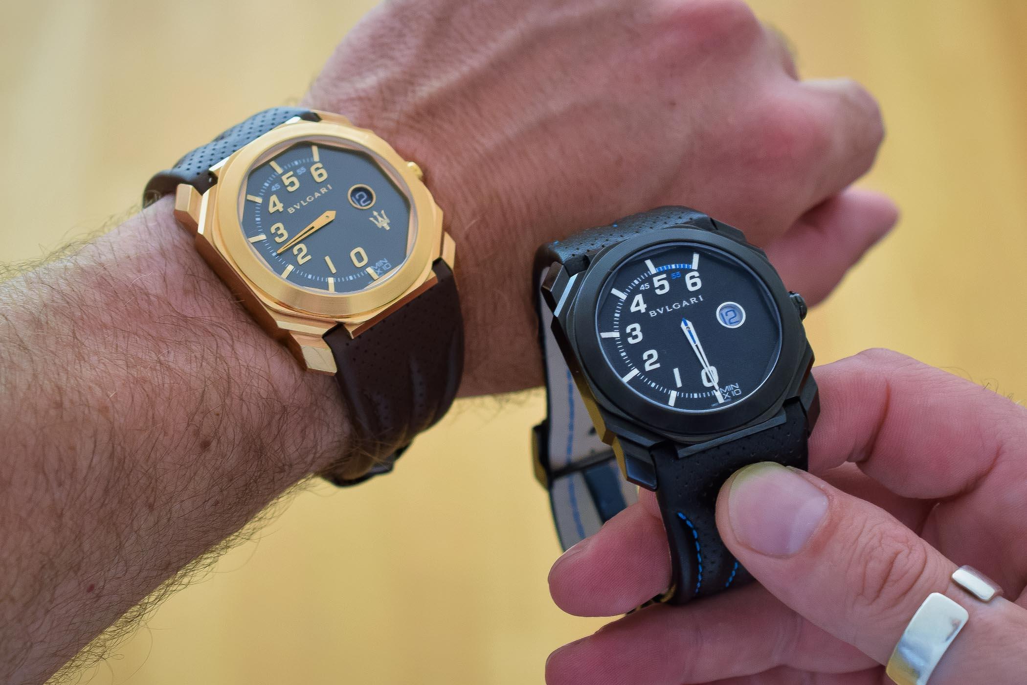 maserati Maserati & Bvlgari: The New Octo Timepieces Bulgari Octo Retro Maserati GranSport GranLusso