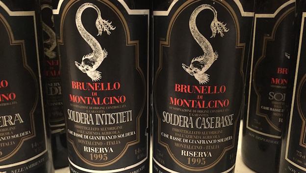 10 Italian Expensive Wines expensive wines 10 Italian Expensive Wines Case Basse di Gianfranco Soldera Toscana IGT Brunello Riserva