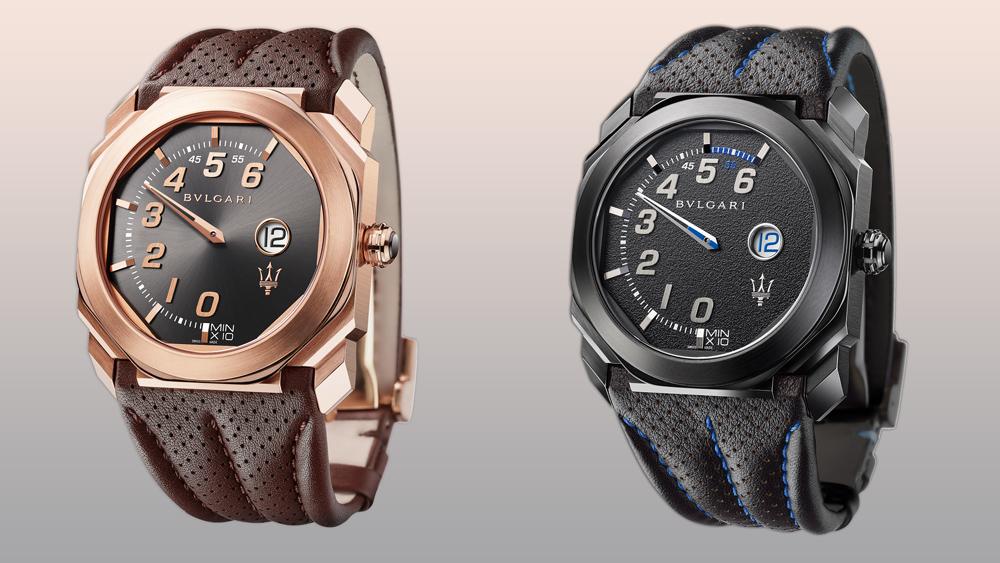 maserati Maserati & Bvlgari: The New Octo Timepieces bulgari octo maserati gransport
