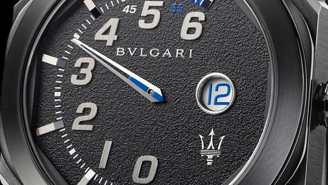 maserati Maserati & Bvlgari: The New Octo Timepieces cu bulgari octo maserati gransport