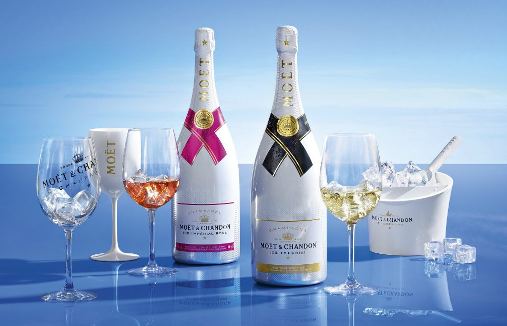 Find Out the Exclusive Ice Collection of Moet & Chandon Champagne