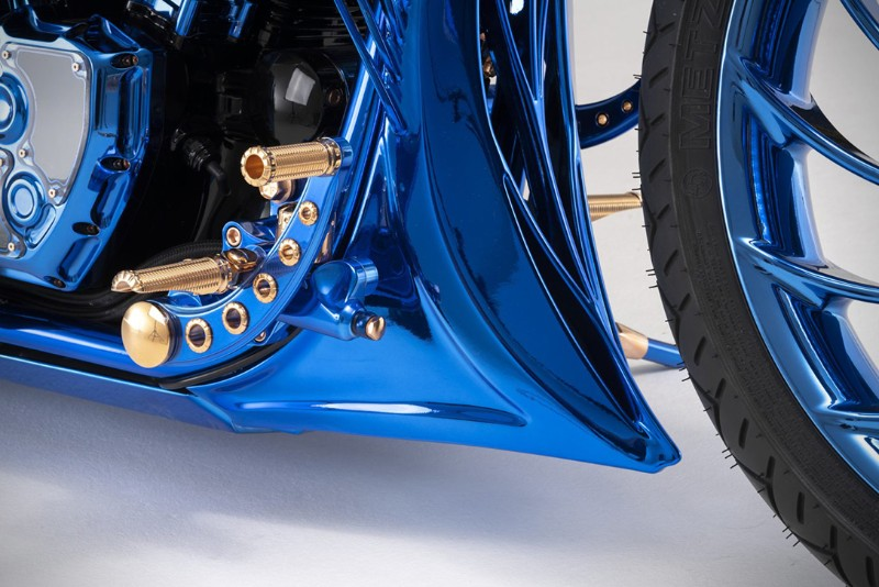 most expensive motorcycle The World's Most Expensive Motorcycle: Harley-Davidson Blue Edition The World   s Most Expensive Motorcycle The Harley Davidson Blue Edition 10