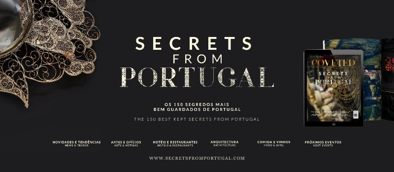 portugal Secrets From Portugal: The Special Edition Of CovetED Magazine Banner Secrets