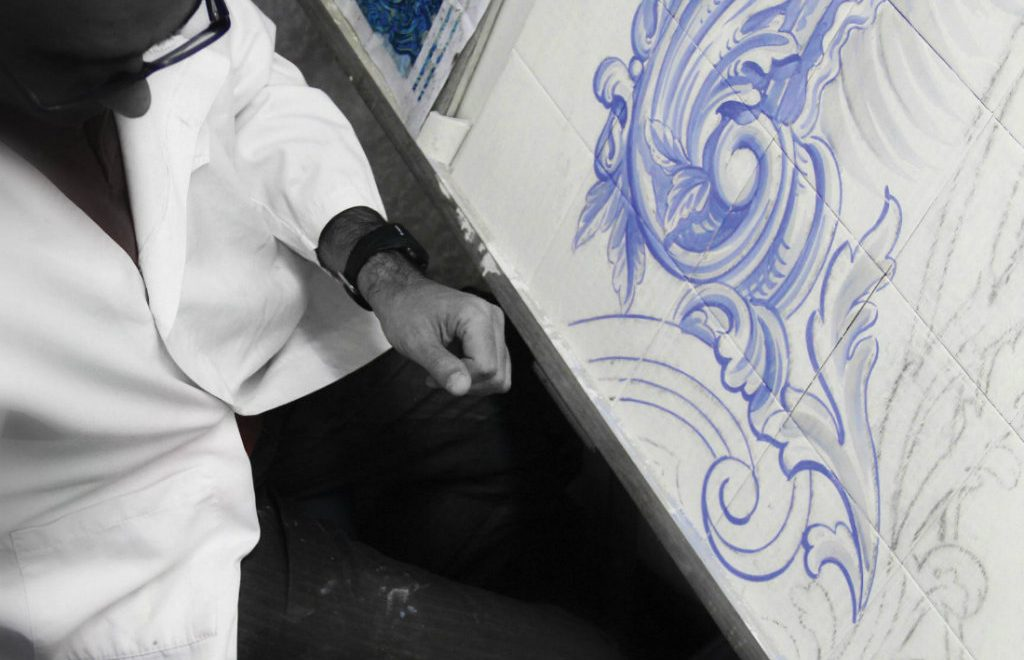 Luxury Furniture Behind The Scenes: The Art Of Hand Painted Tiles