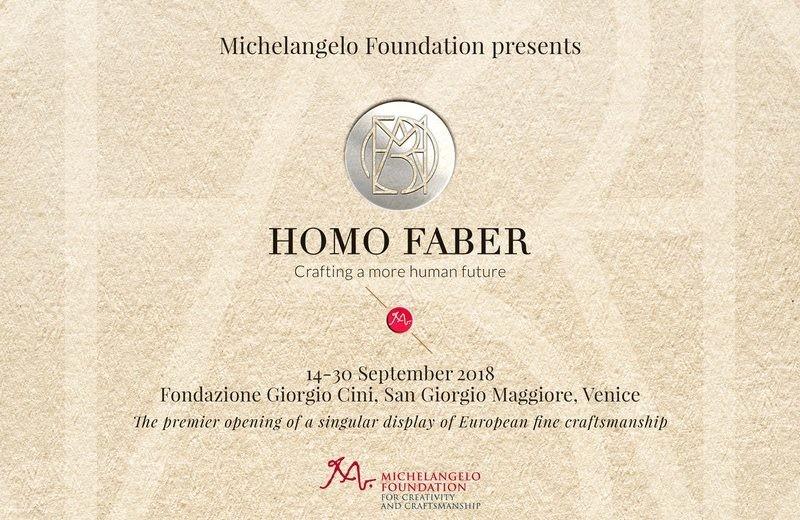 European Craftsmanship Gets a Boost at Homo Faber in Venice homo faber European Craftsmanship Gets a Boost at Homo Faber in Venice 2 European Craftsmanship Gets a Boost at Homo Faber in Venice 1