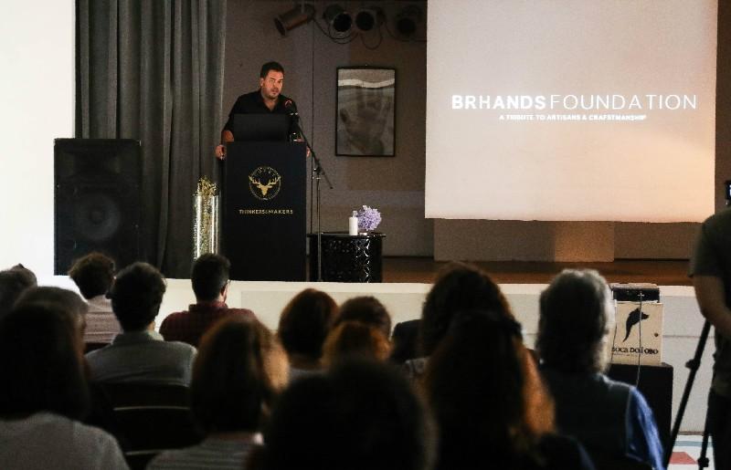 luxury design Luxury Design and Craftsmanship United By Brhands Foundation 9 Brhands Foundation Reunites Craftsmanship and Design