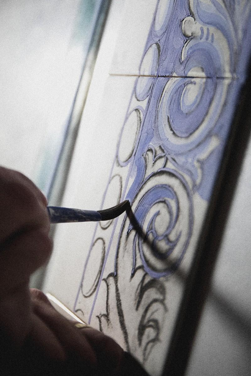 European Craftsmanship Gets a Boost at Homo Faber in Venice homo faber European Craftsmanship Gets a Boost at Homo Faber in Venice tiles hanpainted