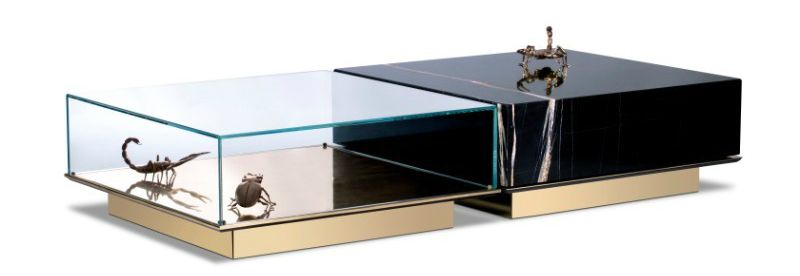 luxury furniture Metamorphosis by Boca do Lobo is the Ultimate Luxury Furniture Family metamorphosis center table bocadolobo 1