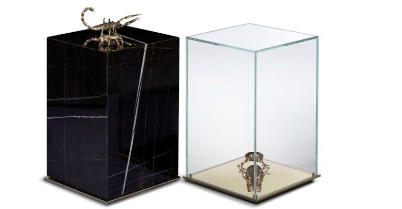 luxury furniture Metamorphosis by Boca do Lobo is the Ultimate Luxury Furniture Family metamorphosis side table bocadolobo 1