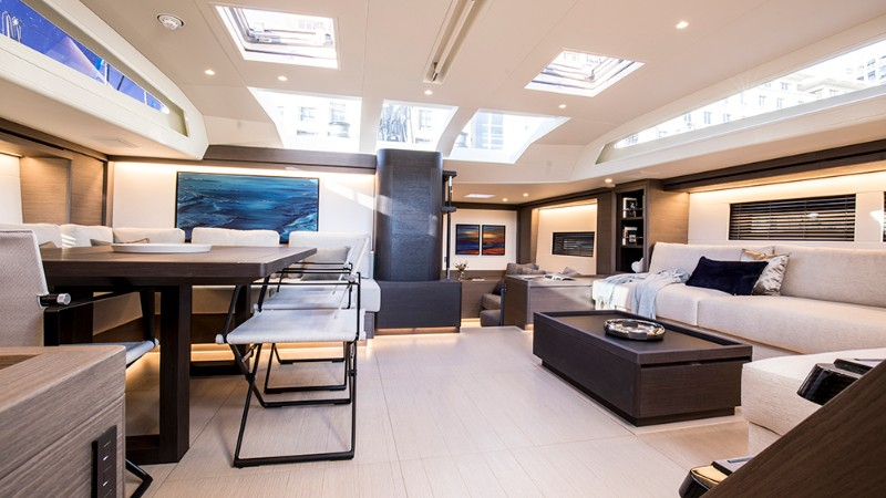 Discover the Top 5 Sailing Luxury Yachts in Cannes luxury yachts Discover the Top 5 Sailing Luxury Yachts in Cannes southern win 96 interior