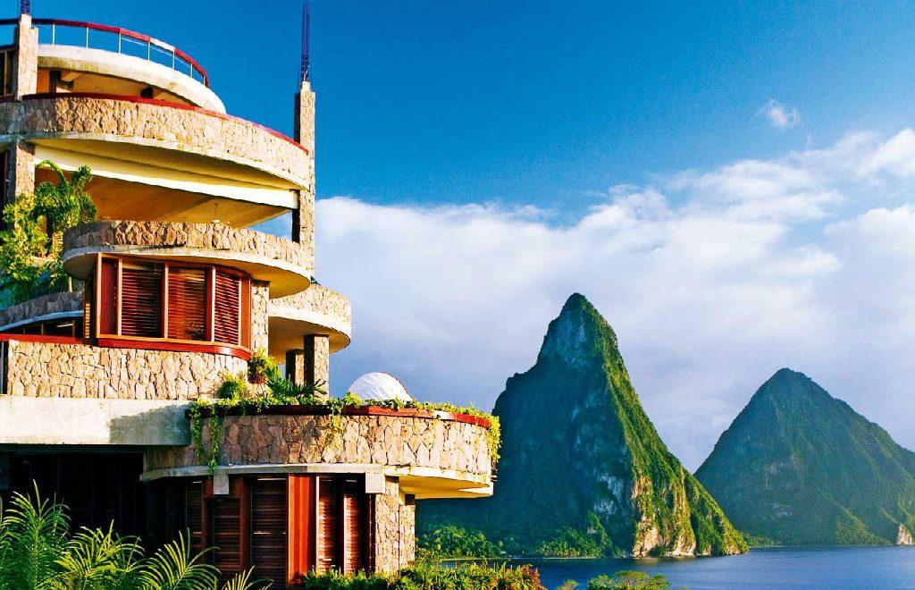 Jade Mountain – The Most Caribbean Luxury Resort