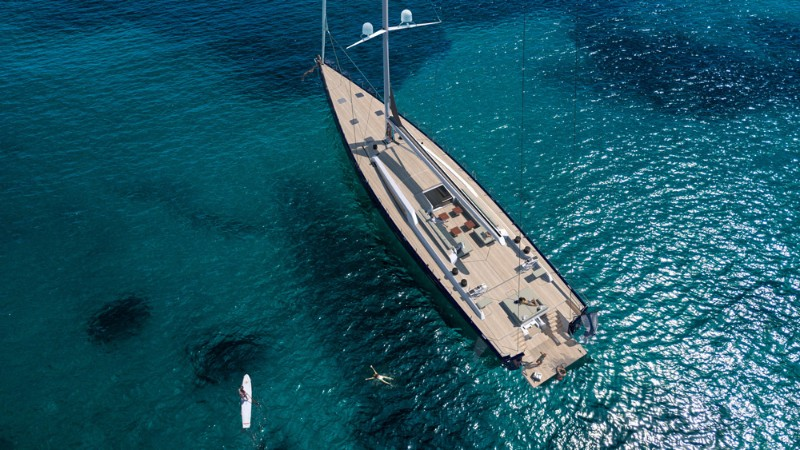 luxury yacht Nautor's Swan Maxi 120: The Luxury Yacht Inspired in Jack Sparrow Swan 120 The Luxury Yacht Inspired in Jack Sparrow 2