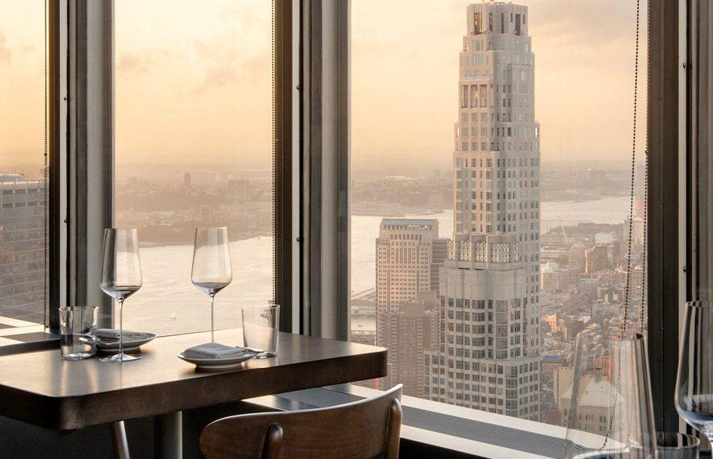 Danny Meyer's Manhatta, a Luxury Restaurant in New York