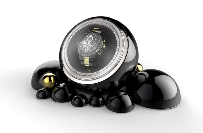 luxury lifestyle 10 Black Watch Winders by Luxury Lifestyle Brands Cloud Watch Winder by Boca do Lobo 1 1