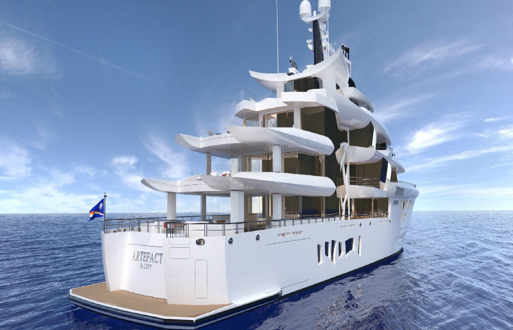 Nobiskrug's Artefact – A Eco-Friendly and Luxury Yacht