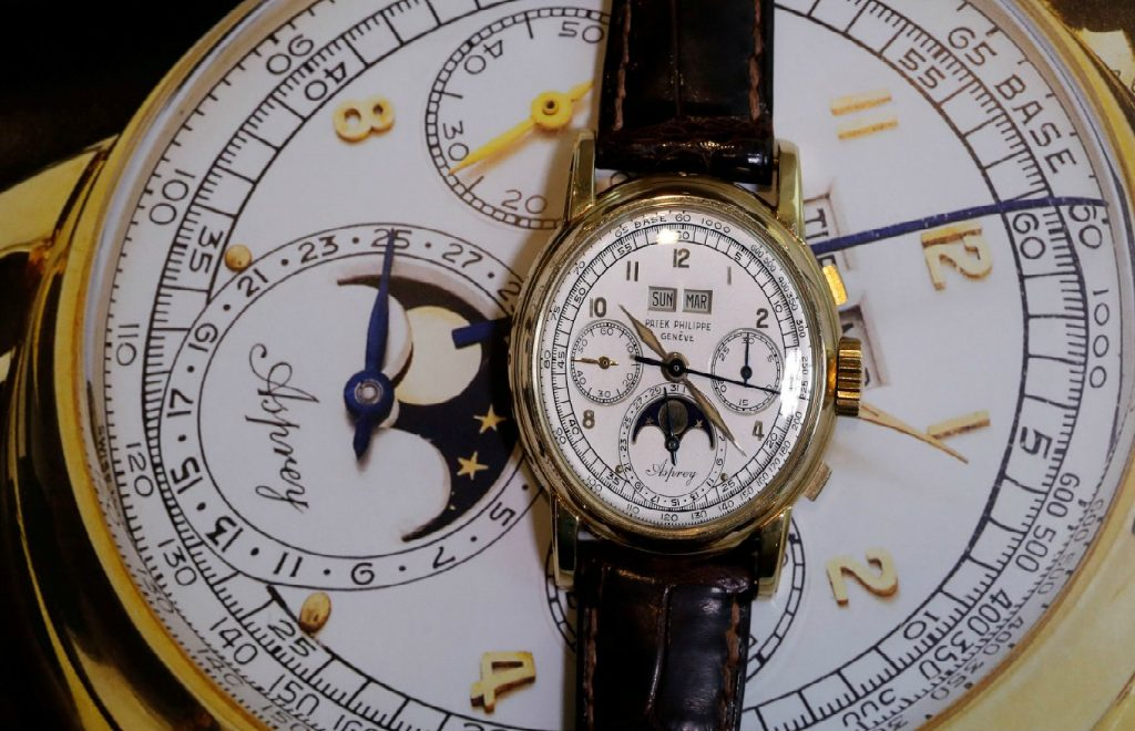 "Sotheby's Patek Philippe ""Asprey"" – The Most Expensive Watch of 2018"
