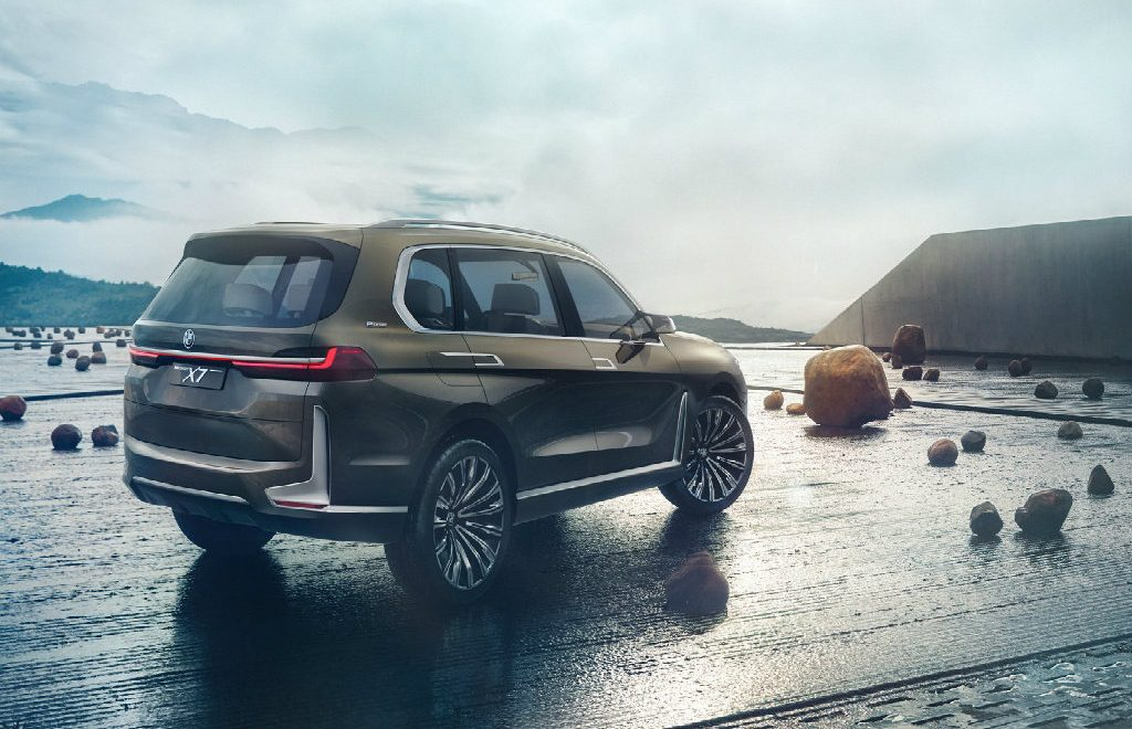 X7, The New BMW With An Exclusive Design
