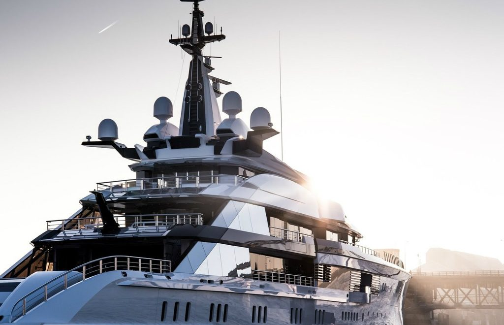 Oceanco's New 357-foot Project Bravo – A Hybrid Superyacht