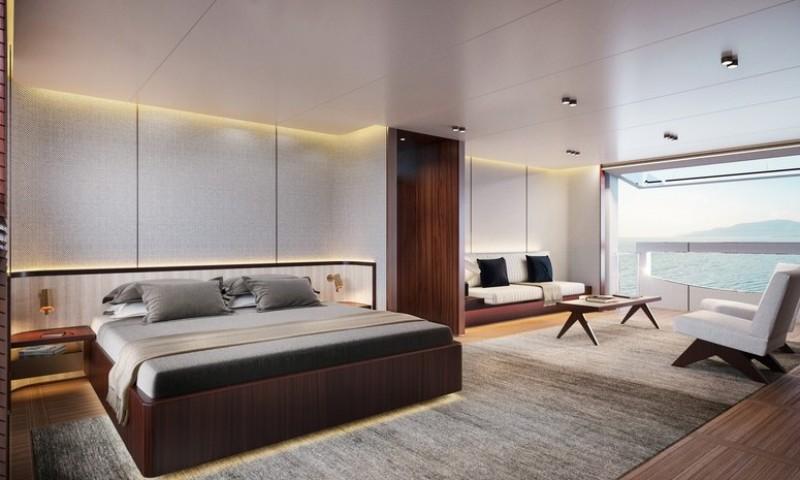 superyacht The Benetti's Superyacht Designed Like a Luxury Penthouse 1