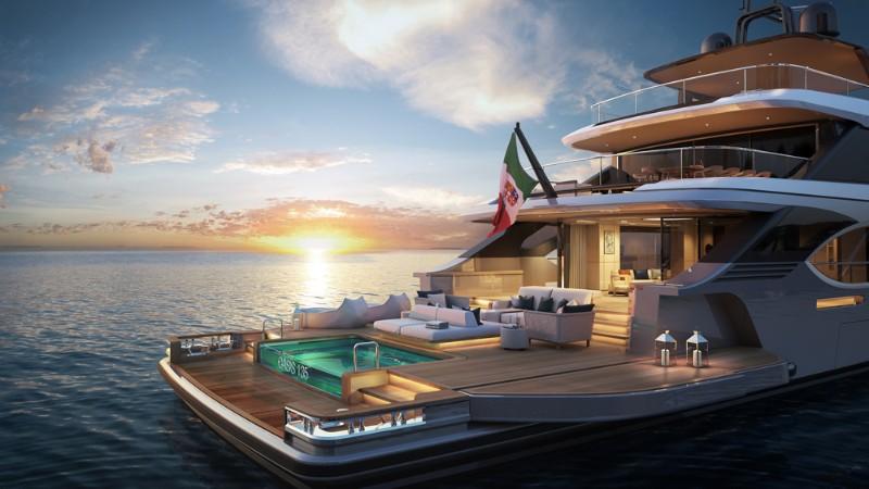 superyacht The Benetti's Superyacht Designed Like a Luxury Penthouse 5