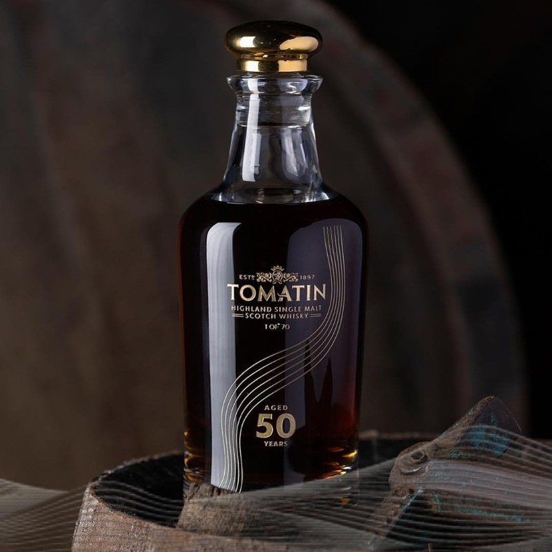 tomatin Limited Edition – Discover the Tomatin 50-Year-Old single malt Whisky Limited Edition     Discover the Tomatin 50 Year Old single malt Whisky 8