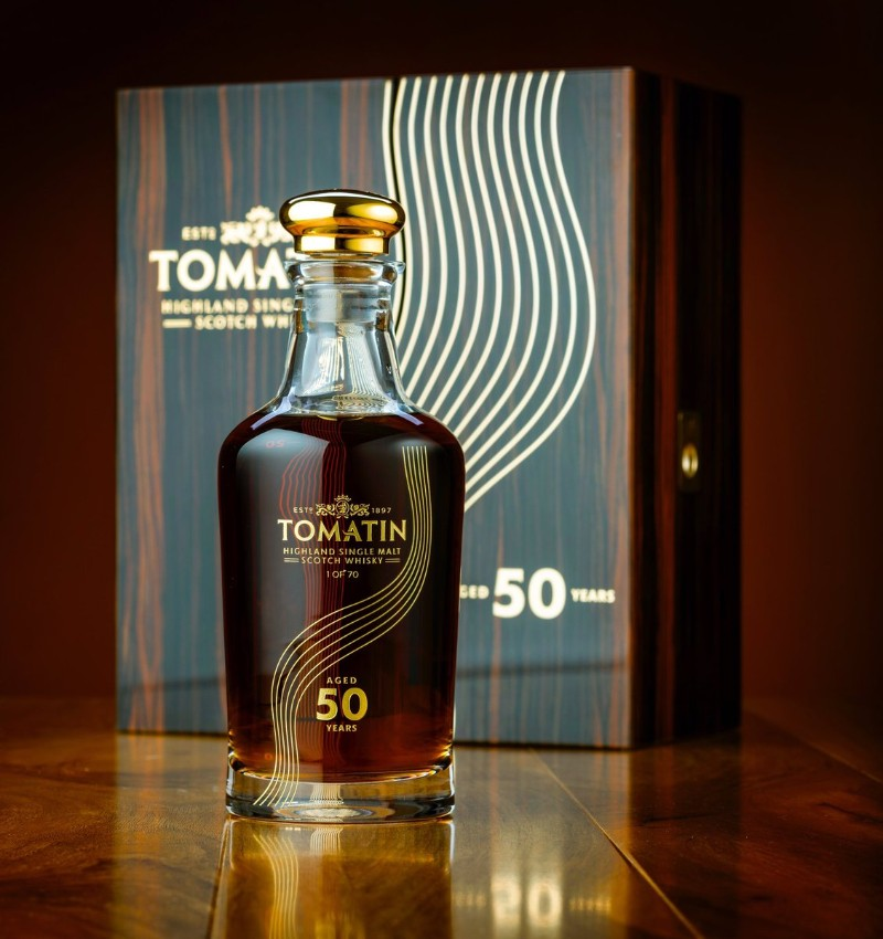 tomatin Limited Edition – Discover the Tomatin 50-Year-Old single malt Whisky Limited Edition     Discover the Tomatin 50 Year Old single malt Whisky 9