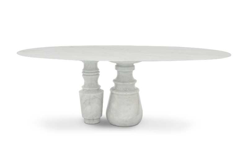 Luxury Furniture – The New Pietra Marble Tables by Boca do Lobo Marble Tables Luxury Furniture – The New Pietra Marble Tables by Boca do Lobo Pietra Oval Table by Boca do Lobo 2