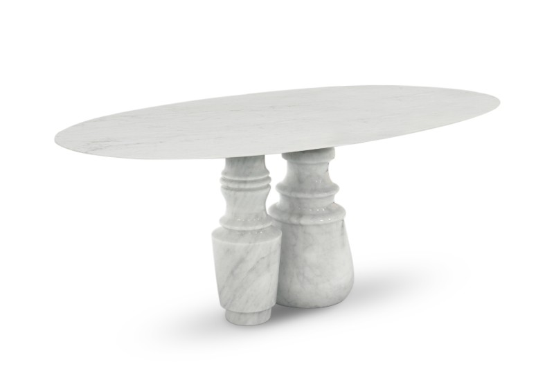 Luxury Furniture – The New Pietra Marble Tables by Boca do Lobo Marble Tables Luxury Furniture – The New Pietra Marble Tables by Boca do Lobo Pietra Oval Table by Boca do Lobo 3
