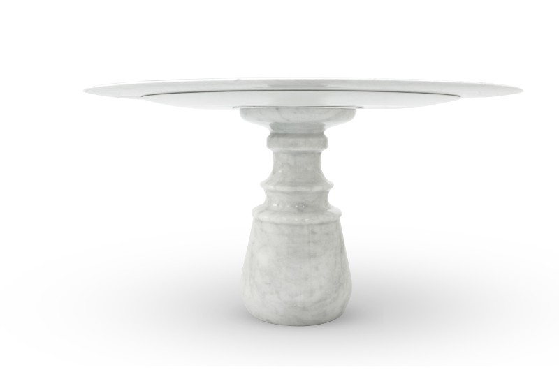 Marble Tables Luxury Furniture – The New Pietra Marble Tables by Boca do Lobo Pietra Round Table by Boca do Lobo 2