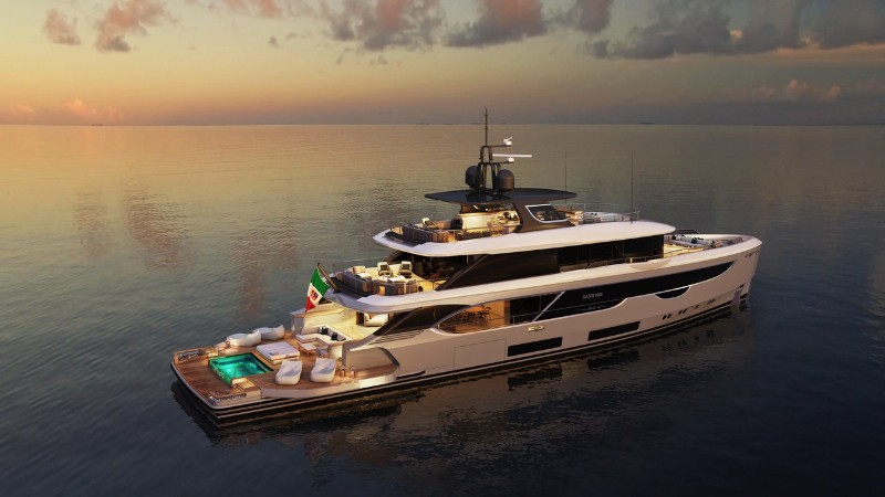 The Benetti's Superyacht Designed Like a Luxury Penthouse superyacht The Benetti's Superyacht Designed Like a Luxury Penthouse The Benettis   s Superyacht Designed Like a Luxury Penthouse 1