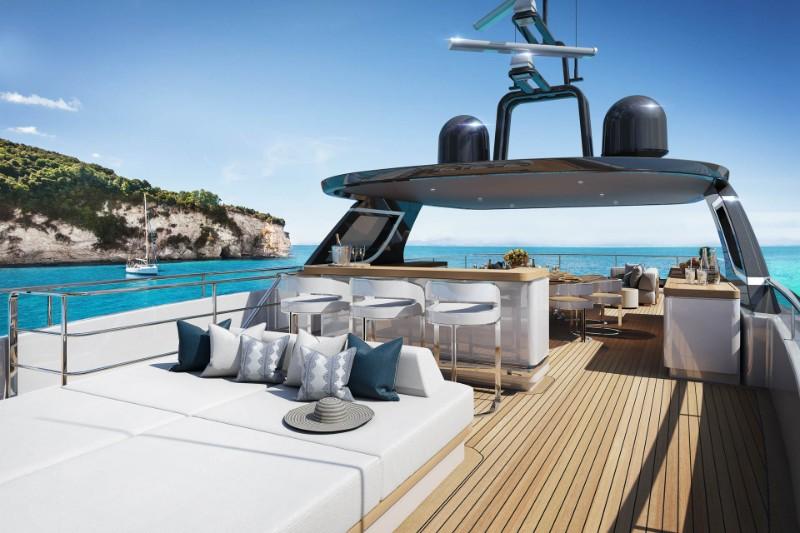superyacht The Benetti's Superyacht Designed Like a Luxury Penthouse The Benettis   s Superyacht Designed Like a Luxury Penthouse 10