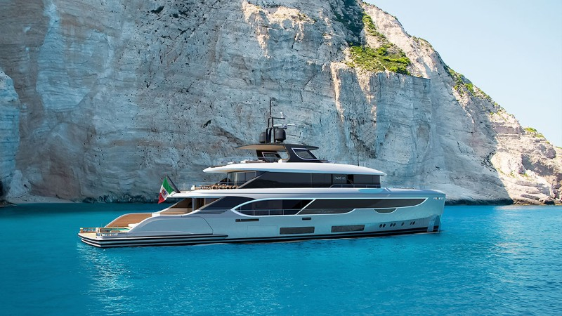 superyacht The Benetti's Superyacht Designed Like a Luxury Penthouse The Benettis   s Superyacht Designed Like a Luxury Penthouse 12