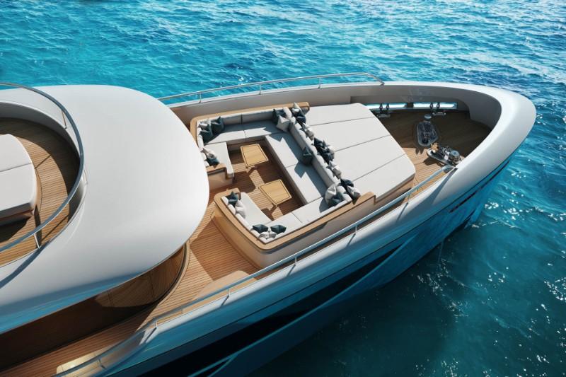 superyacht The Benetti's Superyacht Designed Like a Luxury Penthouse The Benettis   s Superyacht Designed Like a Luxury Penthouse 13