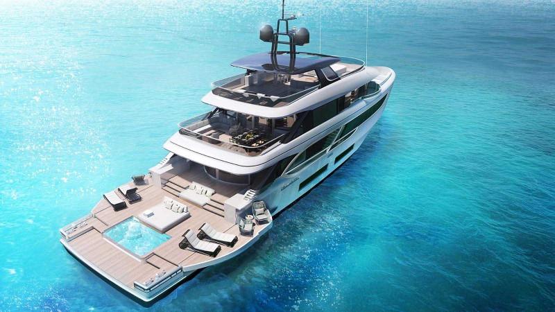 superyacht The Benetti's Superyacht Designed Like a Luxury Penthouse The Benettis   s Superyacht Designed Like a Luxury Penthouse 6