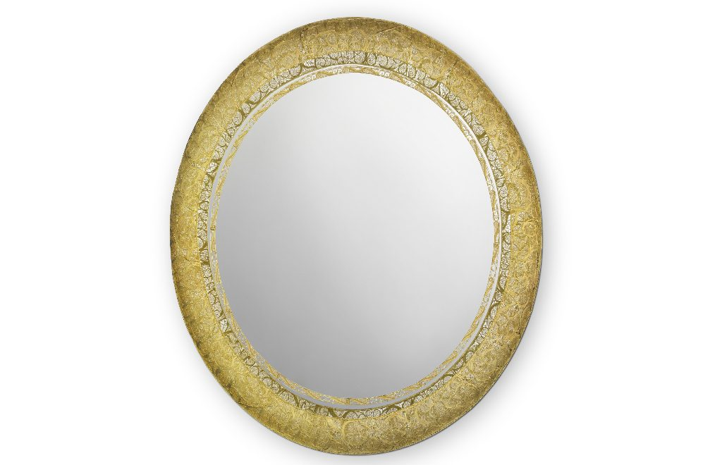 The Art of Filigree Reinvented by New Round Mirror by Boca do Lobo