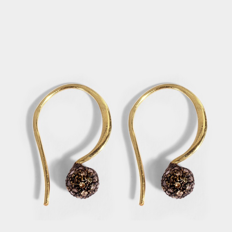 PAD Paris 2019: Jewelry Exhibitors You Should Know About pad paris PAD Paris 2019: Jewelry Exhibitors You Should Know About 5 OCTOBRE Women Phenix Earrings in Gold 24K GoldPlated Silver and Diamonds OCT009026 TWTAONJ