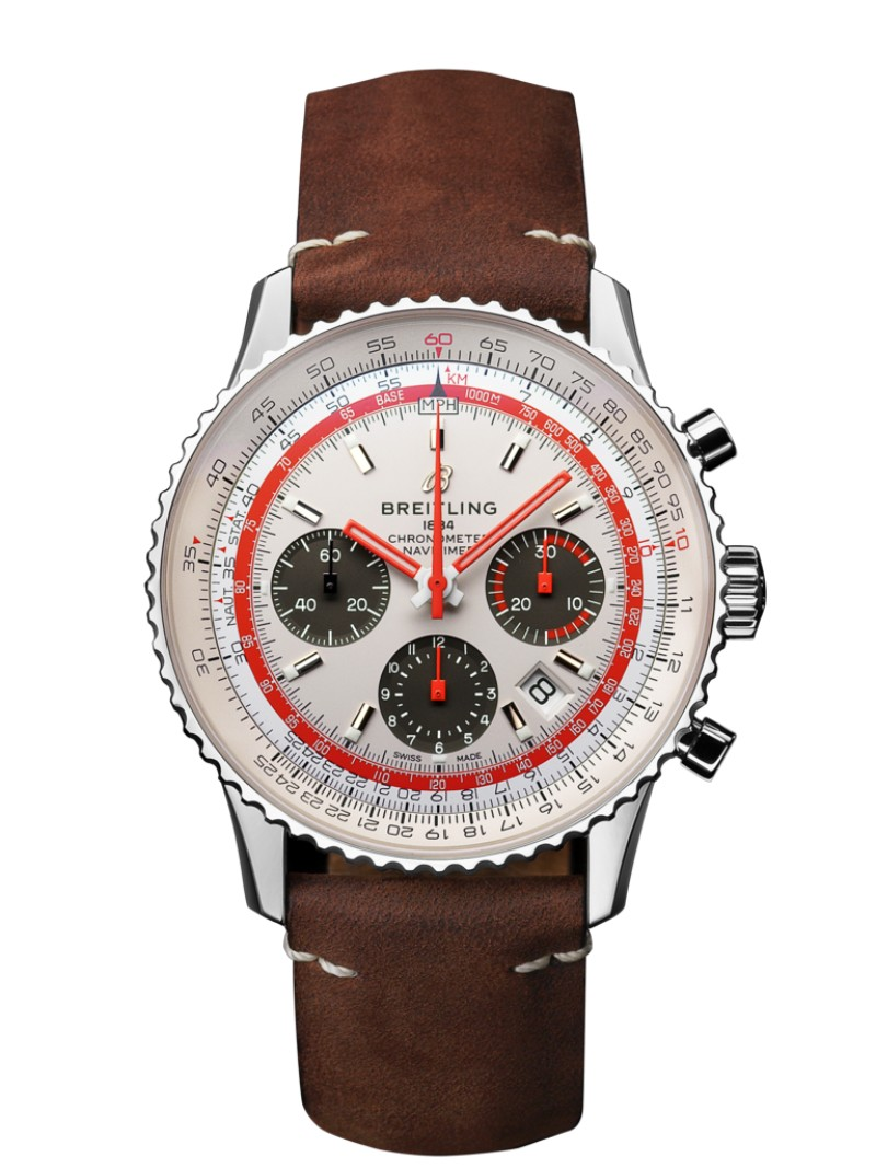 Watch Brands to Watch at BaselWorld 2019 - NAVITIMER 1 B01 CHRONOGRAPH 43 AIRLINE EDITION - TWA baselworld Watch Brands to Watch at BaselWorld 2019 AB01219A G848 515X A20DSA