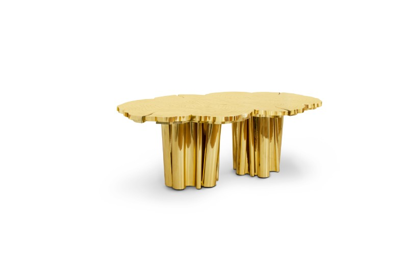 Shimmering Statement Pieces: Meet the Fortuna Unique Tables Unique Tables Shimmering Statement Pieces: Meet the Fortuna Unique Tables Fortuna Dining Table by Boca do Lobo 1