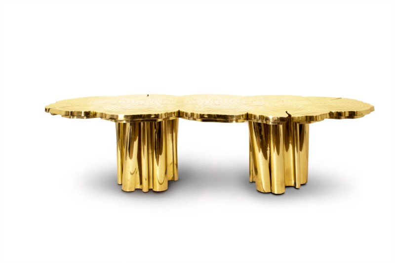 Shimmering Statement Pieces: Meet the Fortuna Unique Tables Unique Tables Shimmering Statement Pieces: Meet the Fortuna Unique Tables Fortuna Dining Table by Boca do Lobo 2