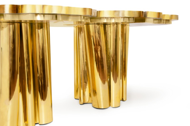 Shimmering Statement Pieces: Meet the Fortuna Unique Tables Unique Tables Shimmering Statement Pieces: Meet the Fortuna Unique Tables Fortuna Dining Table by Boca do Lobo 3
