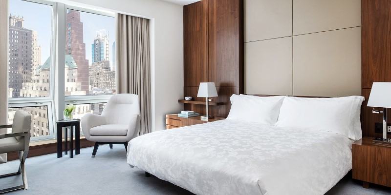 Find The 10 Most Expensive and Luxury Hotels in New York luxury hotel Where To Sleep In The City That Never Sleeps? 10 Luxury Hotels In NYC Langham Place New York Fifth Avenue