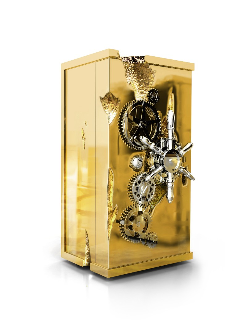The Best of Exclusive Design: The Remarkable Millionaire Safes exclusive design The Best of Exclusive Design: The Remarkable Millionaire Safes Millionaire Safe by Boca do Lobo 2