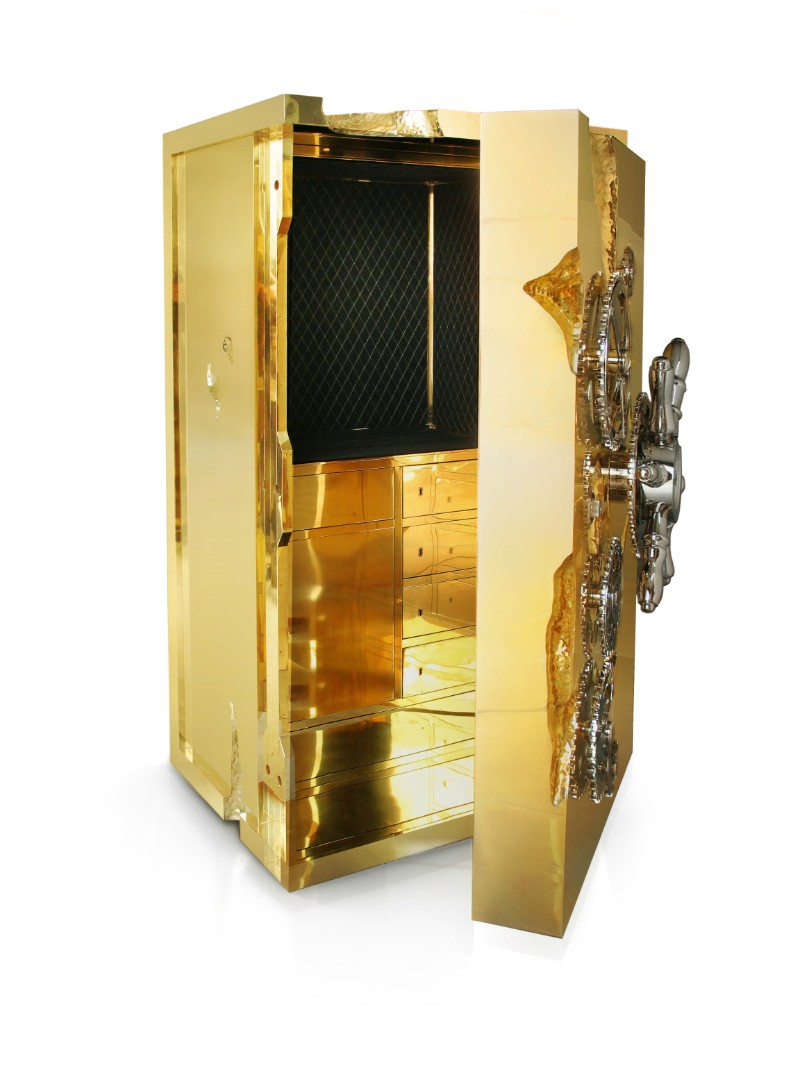 The Best of Exclusive Design: The Remarkable Millionaire Safes exclusive design The Best of Exclusive Design: The Remarkable Millionaire Safes Millionaire Safe by Boca do Lobo 5