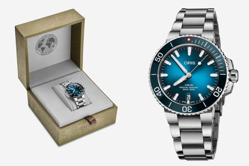 Baselworld 2019: The Best Highlights of the First Day baselworld 2019 Baselworld 2019: The Best Highlights of the First Day Oris Clean Ocean packaging